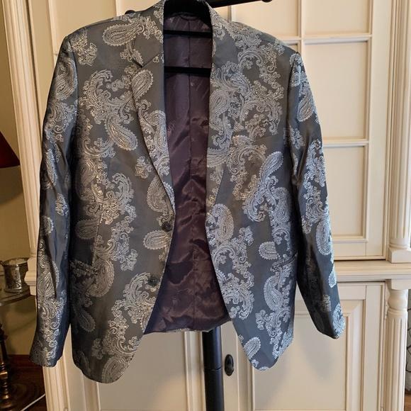 Giorgio Armani Other - Georgio Armani Metallic Paisley Jacket Large